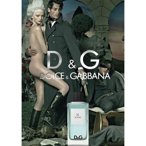 Dolce & Gabbana 21 Le Fou edt men