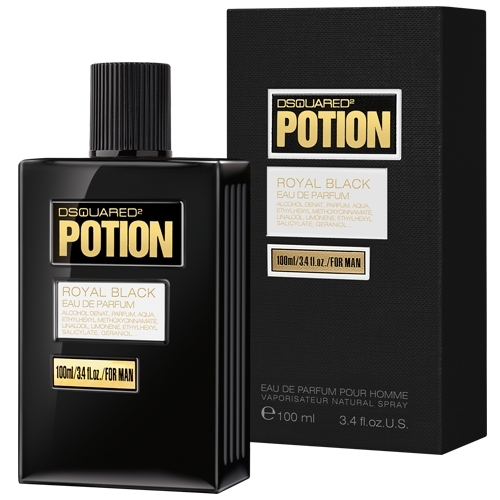 Dsquared2 Potion Royal Black edp men