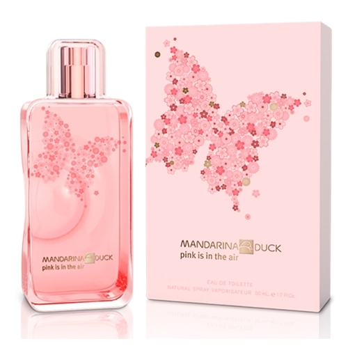 Духи Mandarina Duck Pink Is In The Air (Мандарина Дак Пинк из ин зе Эйр)