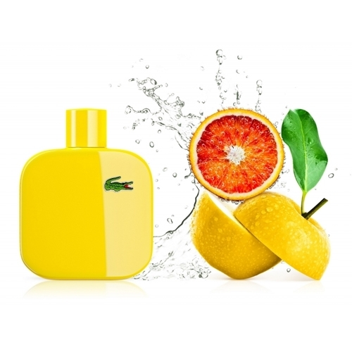Желтый парфюм для него Lacoste Eau De Lacoste L.12.12 Jaune (Лакост О Де Лакост Л.12.12 Джаун)