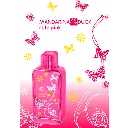 Туалетная вода для женщин Mandarina Duck Cute Pink // Мандарина Дак Кьют Пинк