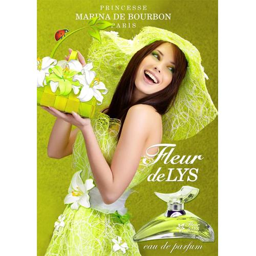 Женский парфюм Marina de Bourbon Fleur De Lys (Марина Де Бурбон Флер Де Лис)
