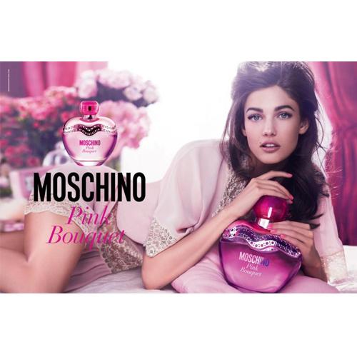 Moschino Pink Bouquet (Москино Розовый Букет)