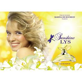 Женский парфюм Marina de Bourbon Sunshine Lys (Марина Де Бурбон Саншайн Лис)