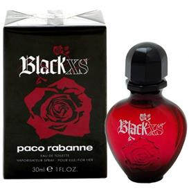 Женские Paco Rabanne Black XS For Her (Пако Рабан Блэк Икс Эс)