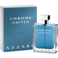 Azzaro Chrome United edt men